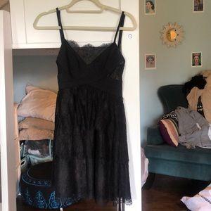 BCBG MAXAZRIA Black Lace Dress